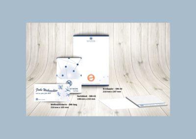 Briefpapier, Notizblock, Weihnachtskarte