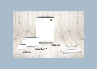 Briefpapier, Briefumschlag, Visitenkarte