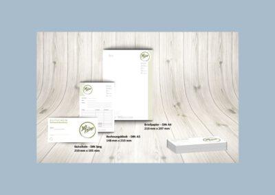 Briefpapier, Rechnungsblock, Gutschein